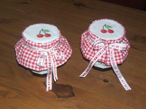 Petites charlottes pour pots de confitures - Mini pot de confiture bonne maman ...
